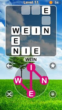 Worträtsel 2018:Wort Kreuz-Wortsuche Deutsch Spiel screenshot 3