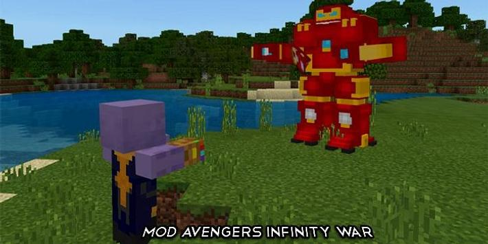 MOD avengers infinity war for Minecraft PE for Android - APK