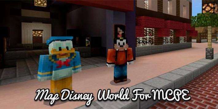 Map disney world for mcpe apk download free entertainment app for map disney world for mcpe poster gumiabroncs Images