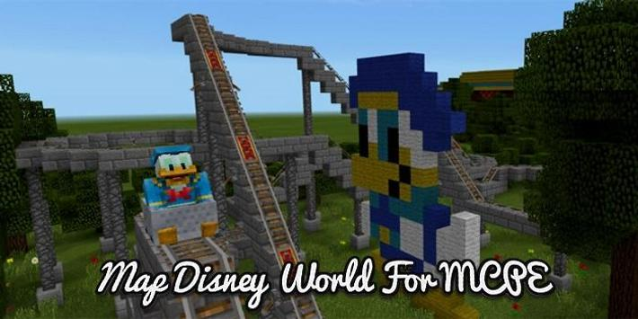 Map disney world for mcpe apk download free entertainment app for map disney world for mcpe poster map disney world for mcpe apk screenshot gumiabroncs Images