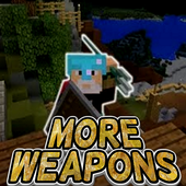Mod More Weapons For MCPE icon