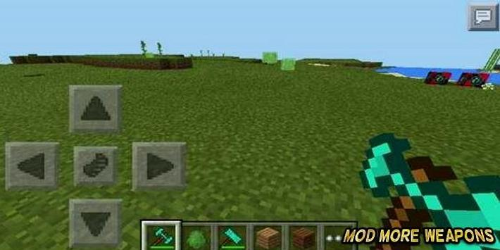 Mod More Weapons For MCPE poster