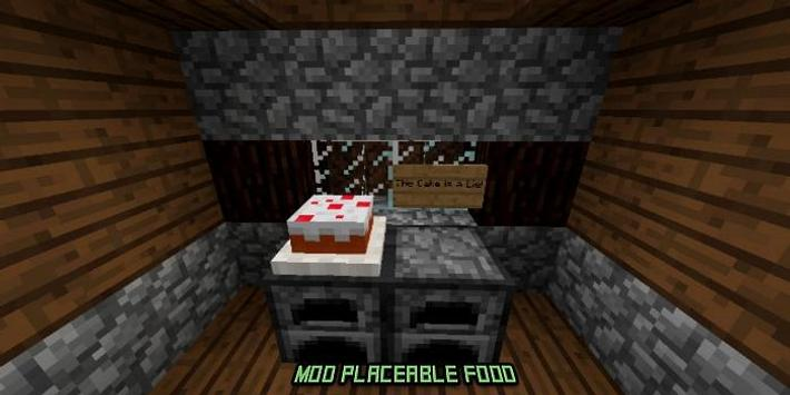 Mod Placeable Food for MCPE screenshot 2