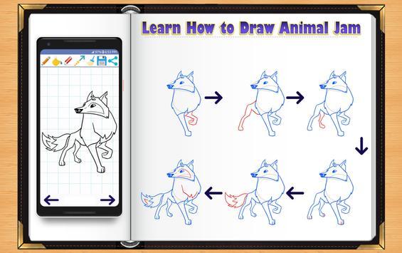 Learn How to Draw Animal Jam apk screenshot