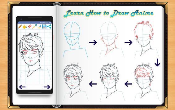 Learn How to Draw Anime screenshot 10