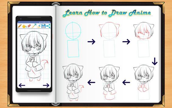 Learn How to Draw Anime screenshot 11