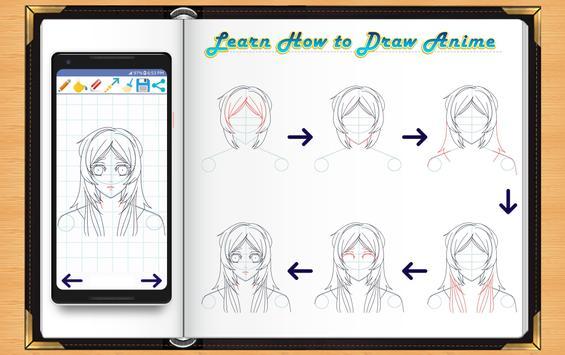 Learn How to Draw Anime screenshot 1