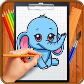 Learn How to Draw Chibi Animals icon