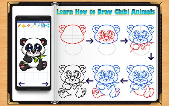 Learn How to Draw Chibi Animals poster