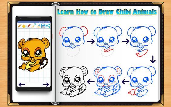 Learn How to Draw Chibi Animals screenshot 3