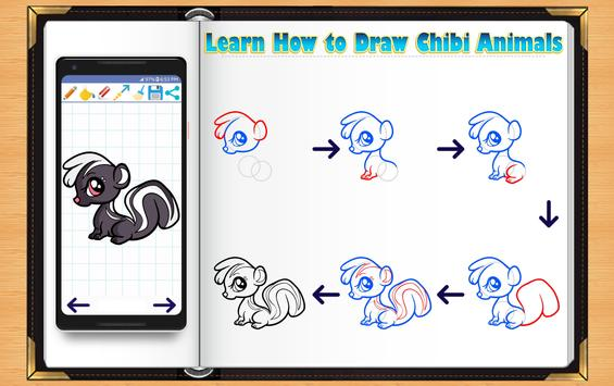Learn How to Draw Chibi Animals screenshot 4