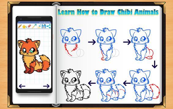Learn How to Draw Chibi Animals screenshot 9