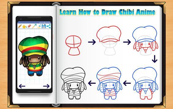 Learn How to Draw Chibi Anime screenshot 9