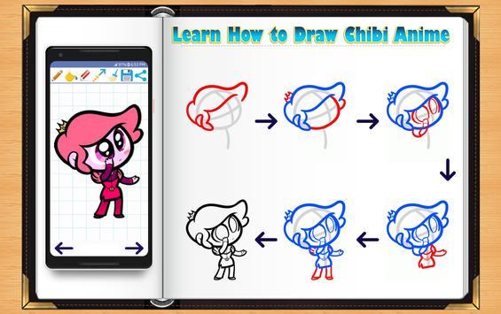 Learn How to Draw Chibi Anime screenshot 2