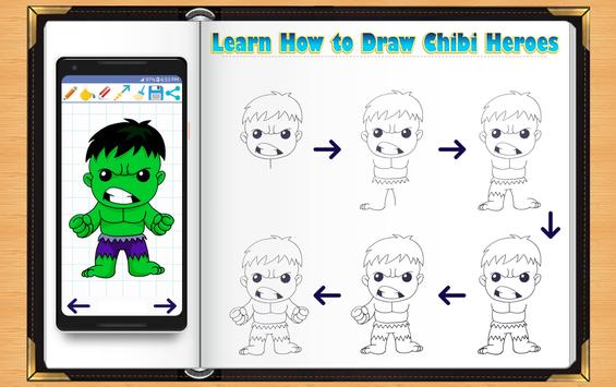 Learn How to Draw Chibi Super Heroes poster