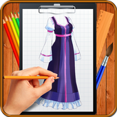 Learn How to Draw Dresses icon