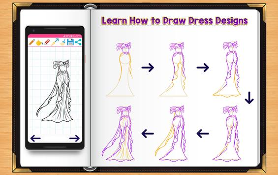 Learn How to Draw Dresses screenshot 4