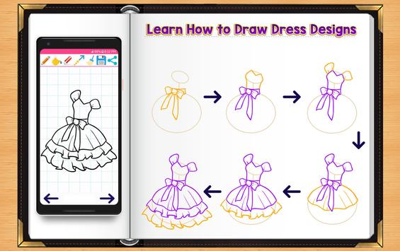 Learn How to Draw Dresses screenshot 6