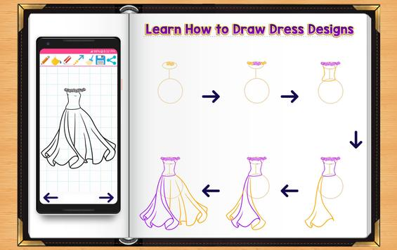 Learn How to Draw Dresses screenshot 2