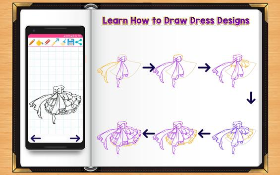 Learn How to Draw Dresses screenshot 3