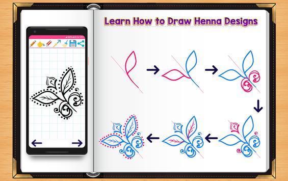 Learn How to Draw Henna Tattoo Designs screenshot 9