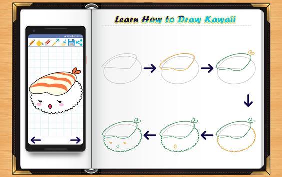 Learn How to Draw Kawaii Anime apk screenshot