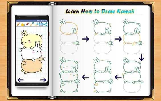 Learn How to Draw Kawaii Anime poster