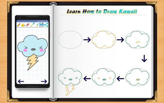 Learn How to Draw Kawaii Anime screenshot 11