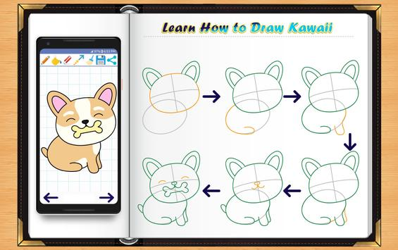 Learn How to Draw Kawaii Anime screenshot 12