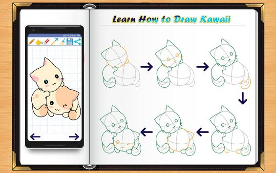 Learn How to Draw Kawaii Anime screenshot 1