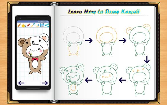 Learn How to Draw Kawaii Anime screenshot 2