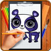 Learn How to Draw Little Pet Shop icon