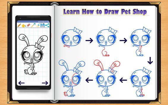 Learn How to Draw Little Pet Shop screenshot 7