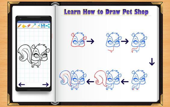 Learn How to Draw Little Pet Shop screenshot 9