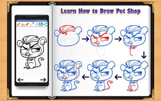 Learn How to Draw Little Pet Shop screenshot 13