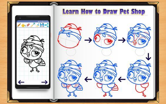 Learn How to Draw Little Pet Shop screenshot 12