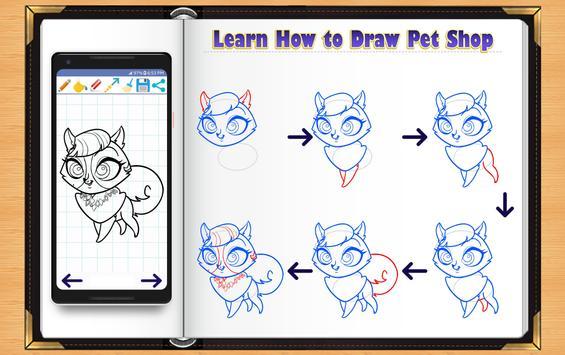Learn How to Draw Little Pet Shop screenshot 1
