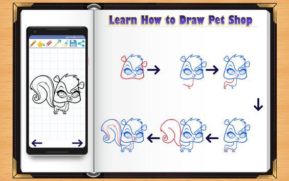 Learn How to Draw Little Pet Shop screenshot 2