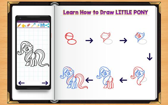 Learn How to Draw Little Pony poster