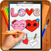 Learn How to Draw Love Hearts