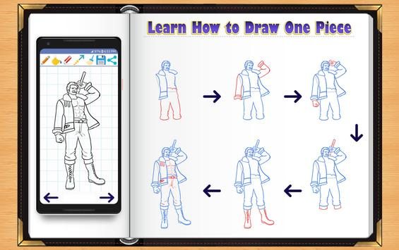 Learn How to Draw One Piece Manga poster