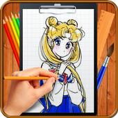 Learn How to Draw Sailor Moon icon