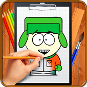 Learn How to Draw South Park Characters icon