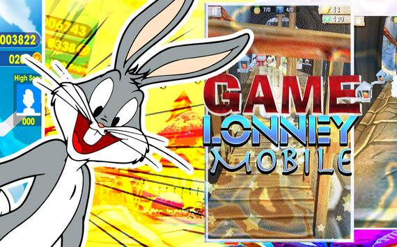 Lonney tunes Bugs Dash Bunny poster