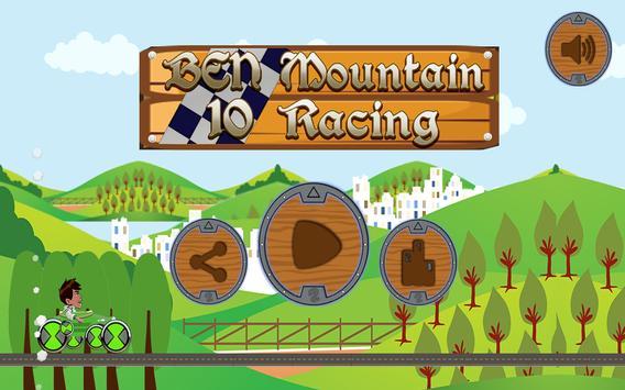 Ben Mountain 10 Racing poster