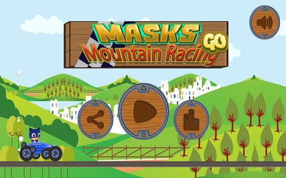 Masks Mountain Racing GO apk screenshot