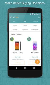 FindYogi-Price Comparison Shop poster