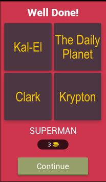 Guess 4 Words 1 Superheroes screenshot 1