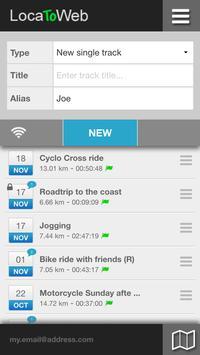 LocaToWeb: Real Time GPS tracker - GEO location पोस्टर