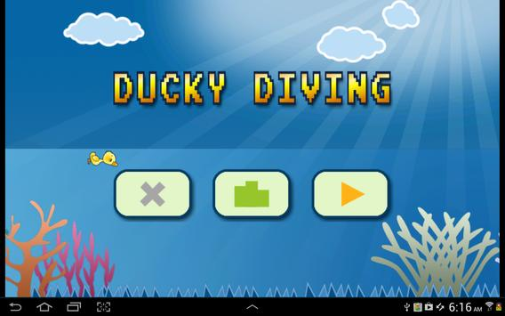 Ducky Diving poster
